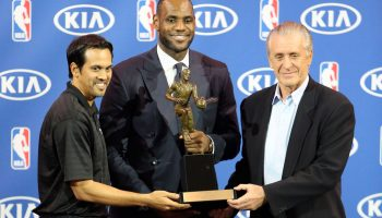 Pat Riley fined $25,000 for LeBron James comments