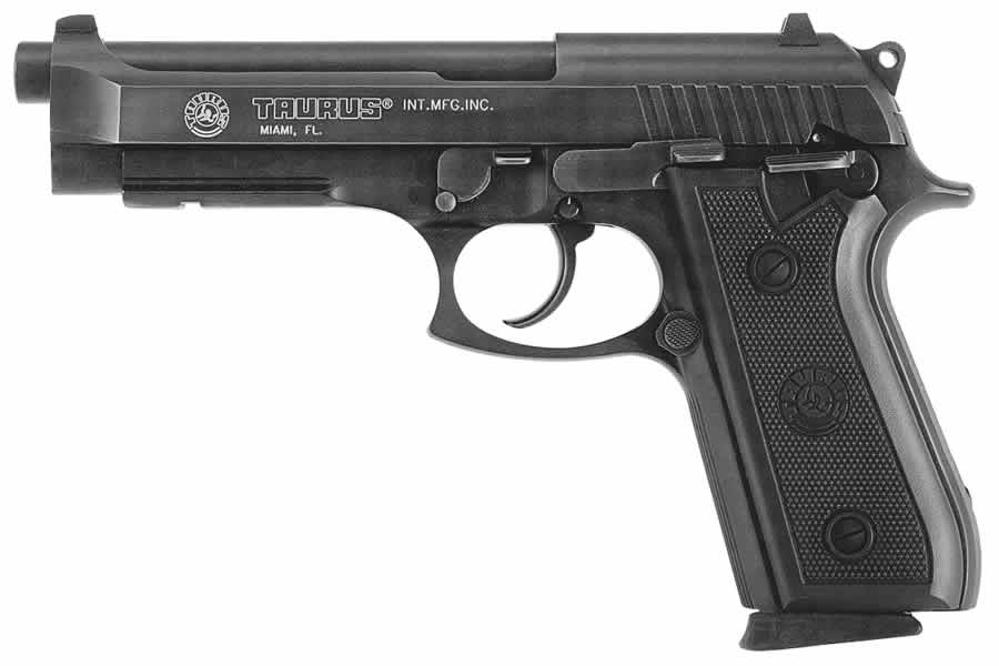 Taurus Pt 92 Af 9mm Centerfire Pistol With Rail