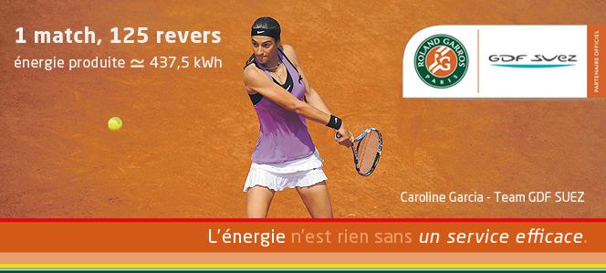 Gagne Ta Place Pour Roland Garros Avec GDF Suez Et Tennis