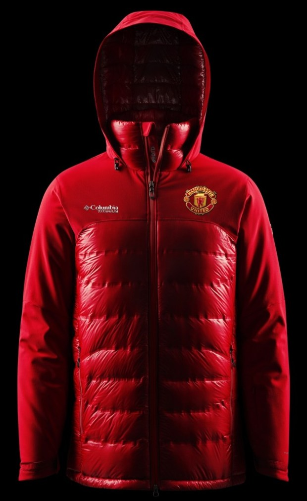 Down jacket-Accord-Columbia-Manchester-United