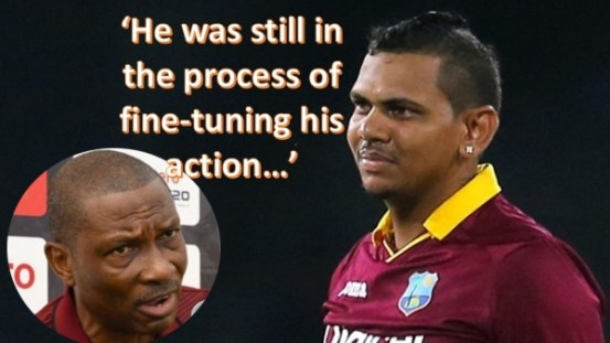 The secret surrounds the date of the return of the Narine carousel to international cricket