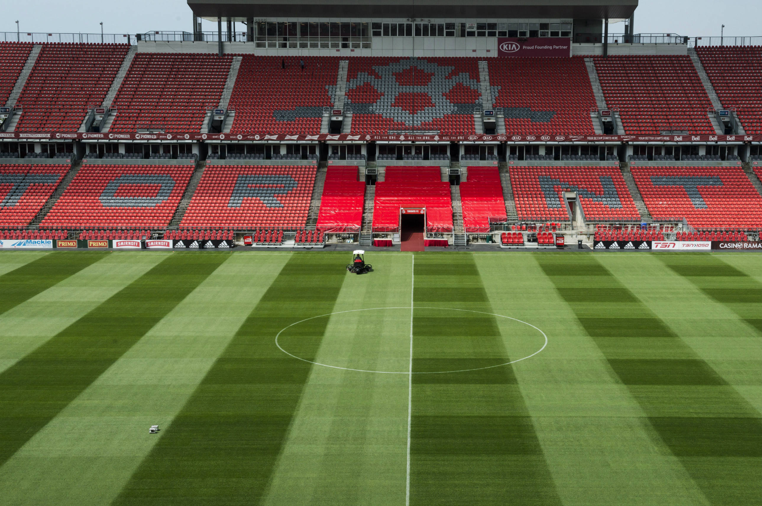 Photo of Toronto FC trains at BMO Field for first time since COVID-19 lockdown – Sportsnet.ca