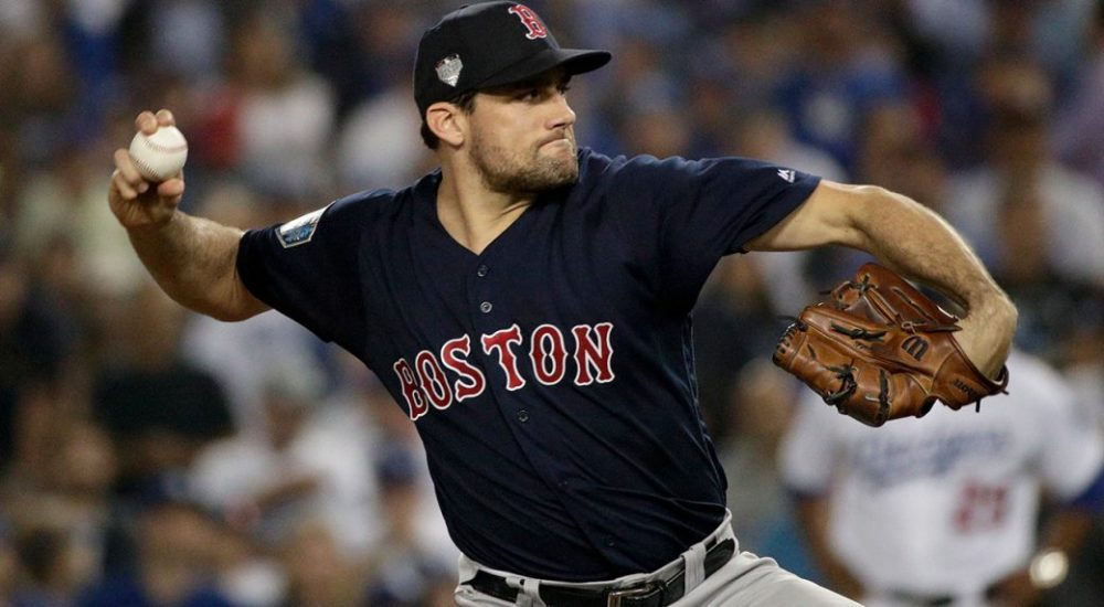 Red Sox sign right-hander Nathan Eovaldi to four-year deal ...