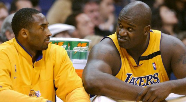 Image result for kobe and shaq