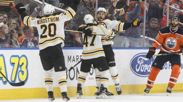 David Pastrnak scores overtime winner as Bruins edge Oilers - Sportsnet.ca