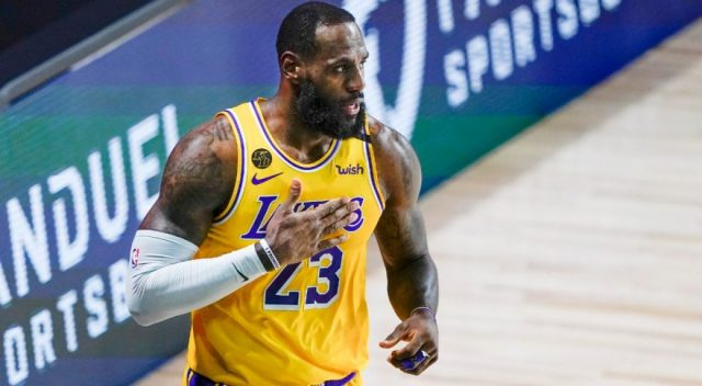 LeBron James inks contract extension with Lakers