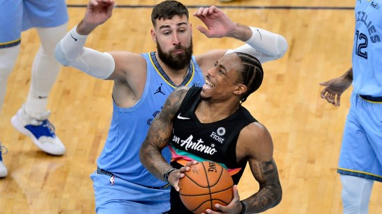 DeRozan leads Spurs past Grizzlies as Morant has 44 points - Sportsnet.ca