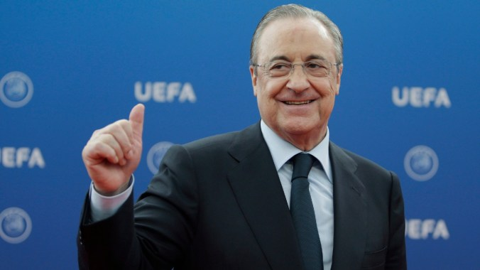 Real Madrid president Florentino Perez tests positive for COVID-19 - Sportsnet.ca