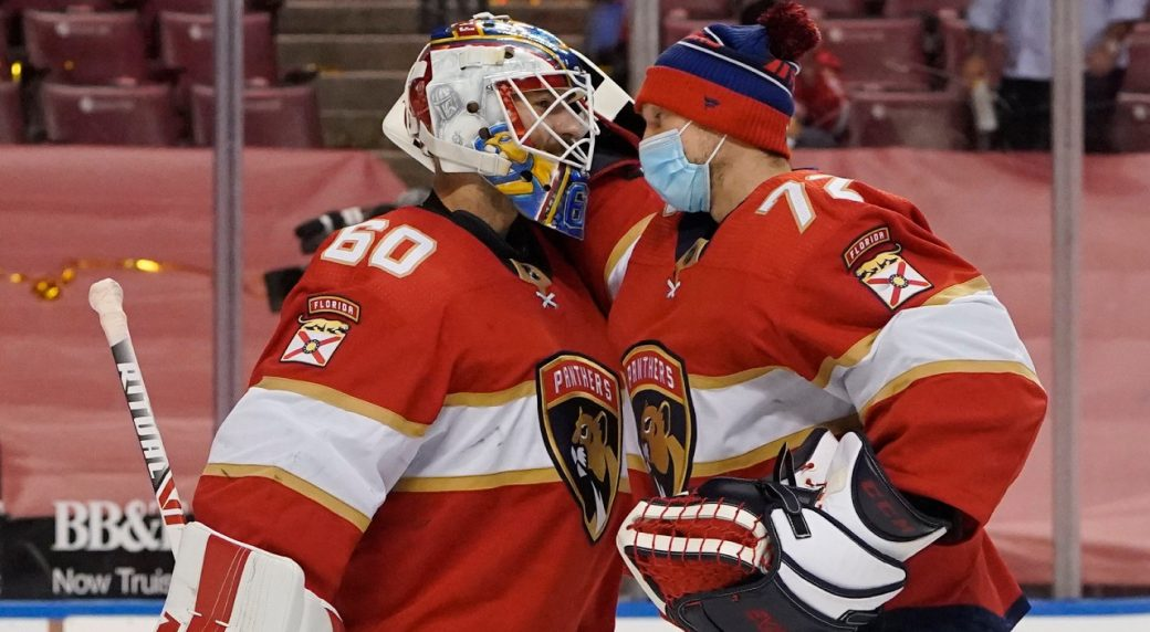 Which goalie should Florida Panthers start in Game 3?