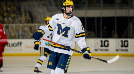 Prospect of Interest: Michigan's well-rounded Matthew Beniers
