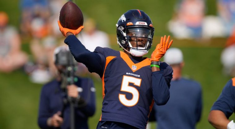 Broncos name Teddy Bridgewater their starting quarterback