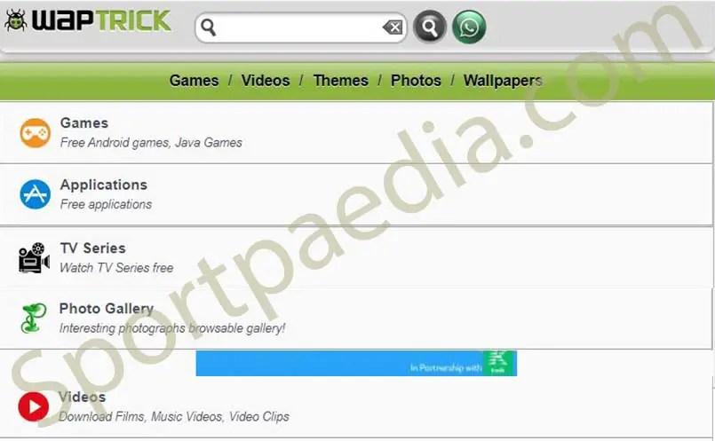 Waptrick - Free Mp3 Music   Videos   Java Games Download   www.waptrick.com