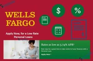 Wells Fargo Loans - Apply Online Now, Get a Low Personal Loan Rates