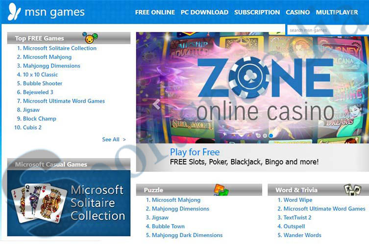 MSN Games - Download and Play Free Microsoft Online Games   www.msn.com