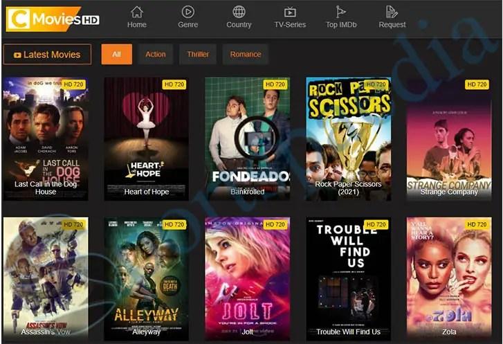 CMovies - Watch Free Movies & TV Series Online | www.cmovies.com