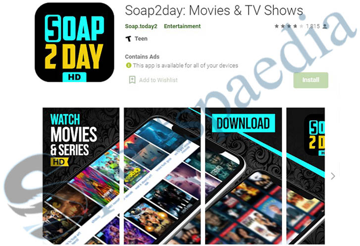 Soap2day App - Download App for Android | Movies & TV Shows App on Google Play
