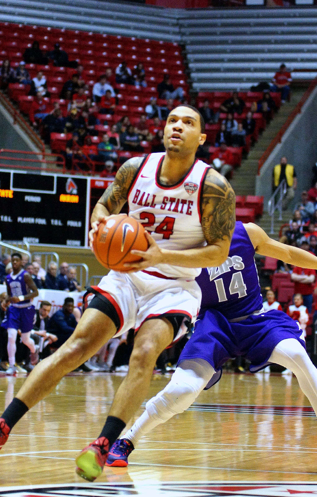 Gallery NCAA Mens Basketball Ball State 64 Vs Akron 73