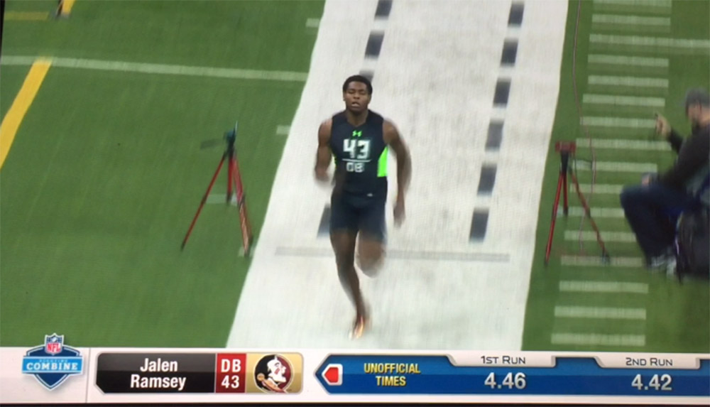 Willie Smith Helps Jalen Ramsey Prepare For The 2016 NFL Combine