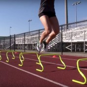 Speed and Agility Hurdles for Soccer Speed and Quickness Training