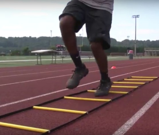 Training Ladder Drills Part 2 (fast twitch) for Speed and Agility