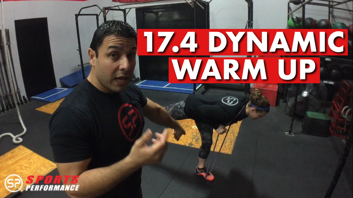 CrossFit Open 17.4 Warm Up And Mobility