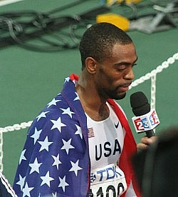 Tyson Gay. Photo by Eckhard Pecher