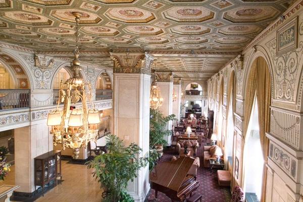 Derby weekend hotel lodging at The Brown Hotel Louisville