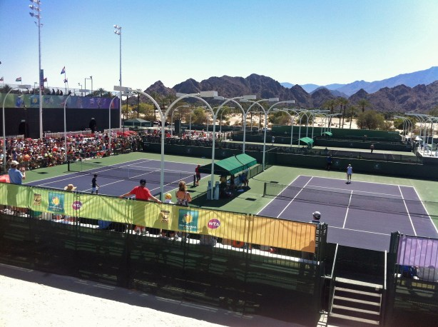 New seating was added to the practice courts as part of renovation.