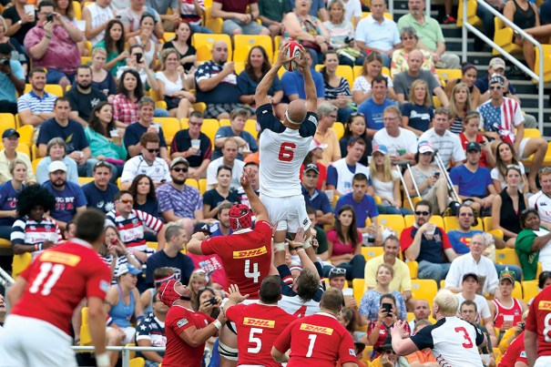 RUGBY: AUG 17 World Cup Qualifier - Canada v USA