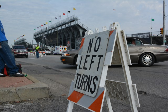 Outside the Indianapolis Motor Speedway there are no left turns. Inside? Only left turns.