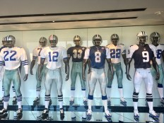 A tour of The Star includes a look at memorabilia such as the Cowboys' uniforms over the years.