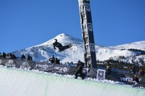 Snowboard competitions served as an Olympic qualifier for U.S. athletes.
