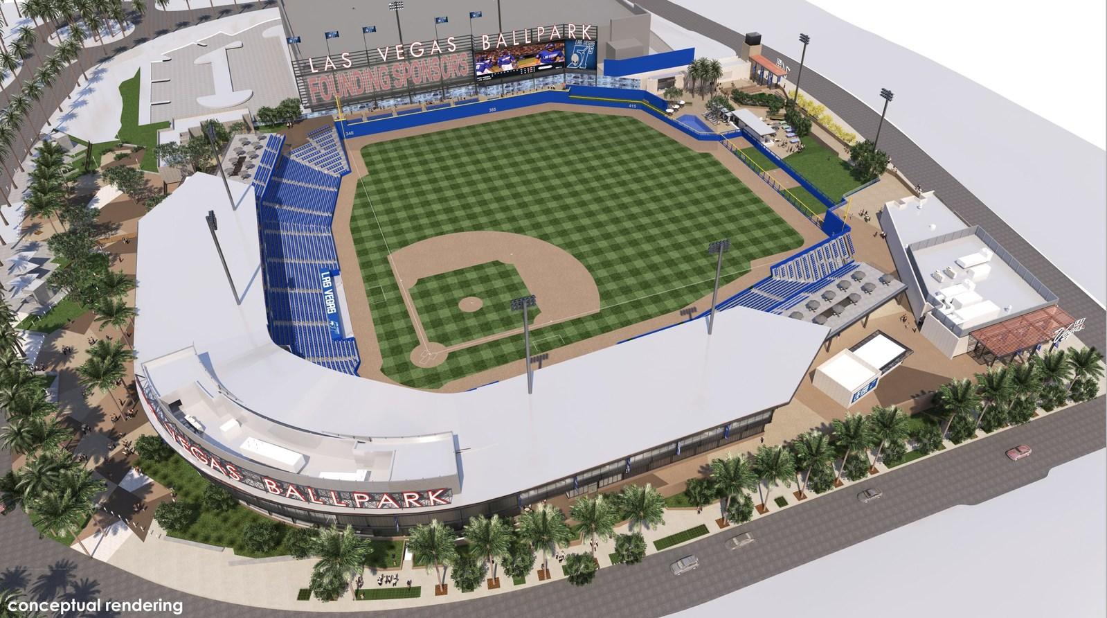 Las-Vegas-Ballpark–Southwest-Aerial