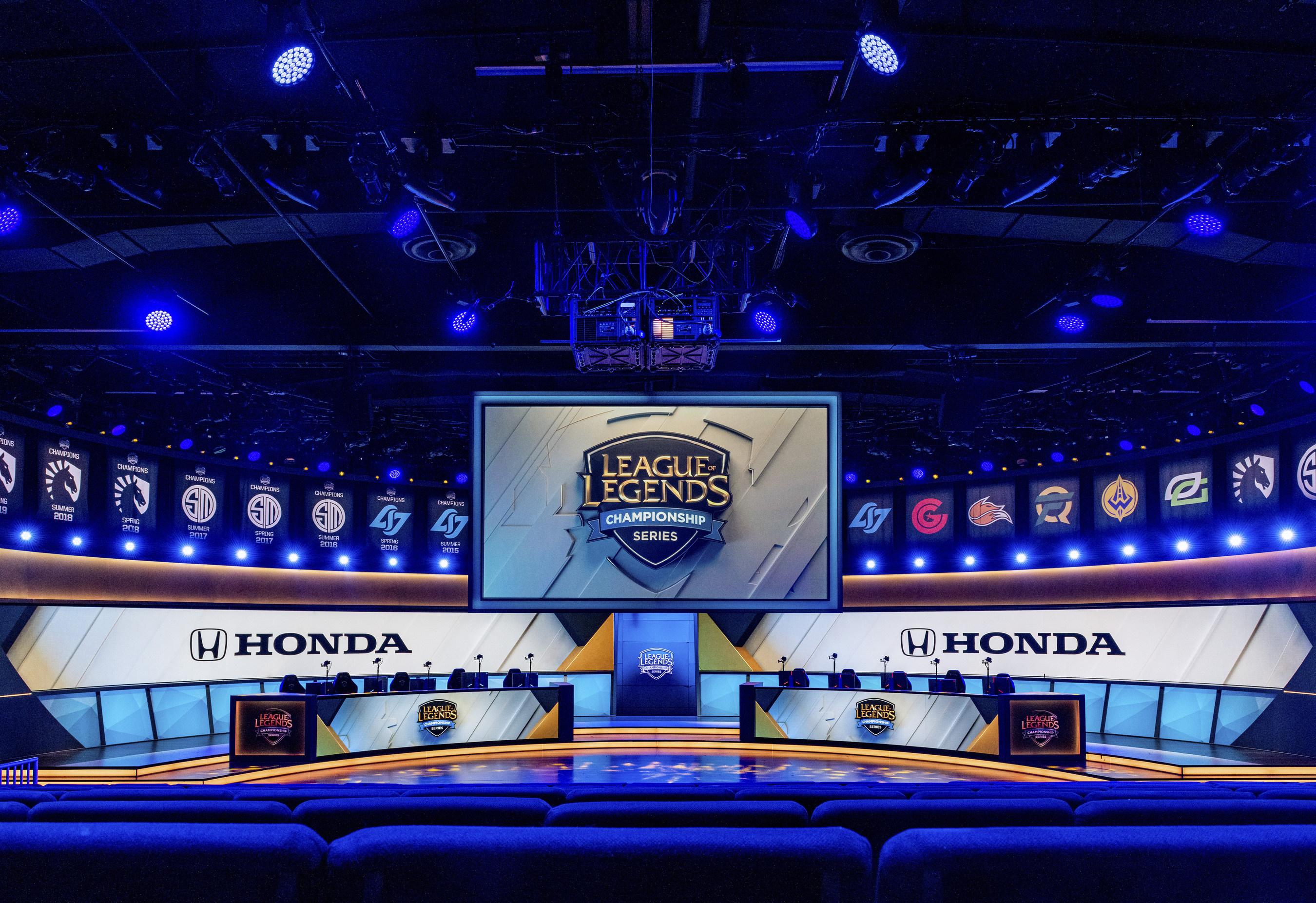 Honda Riot Games