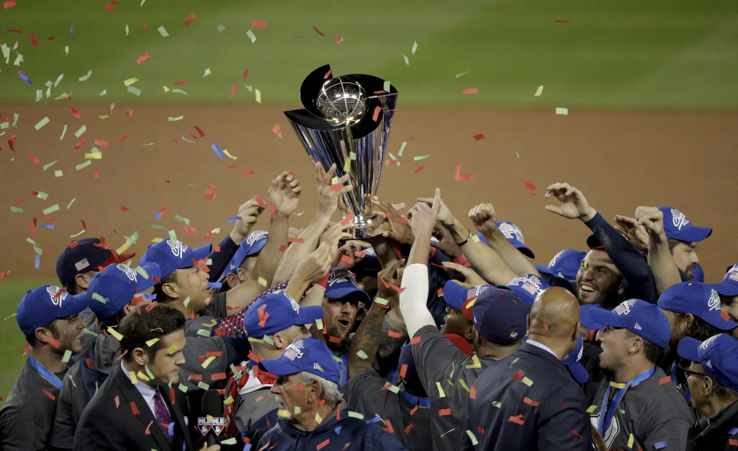 WBC US Puerto Rico Baseball