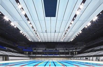 Tokyo Aquatics Center Opens Nine Months Ahead of Rescheduled Olympics