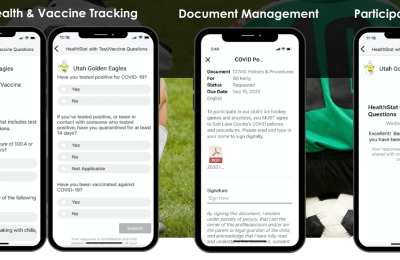 Clear2Play Offers Way to Track COVID-19 Compliance