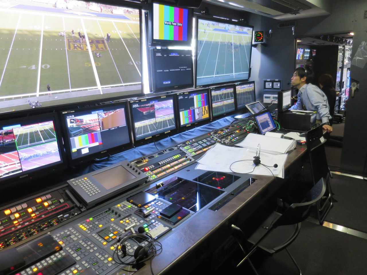 Super Bowl 50 NHKs Newest 8K Mobile Unit Brings The Big