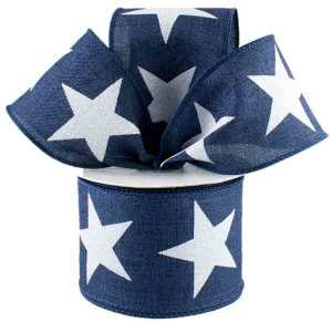 Navy Star Ribbon