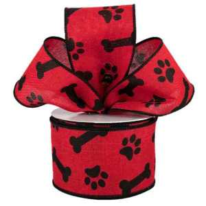 Red Dog Ribbon