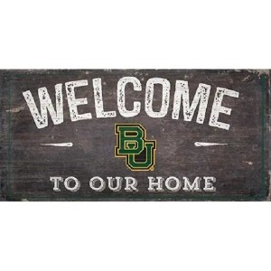 Baylor Welcome Sign