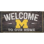 Michigan Wolverines Welcome Sign