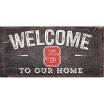 NC State Welcome Sign