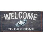 Philadelphia Eagles Welcome Sign