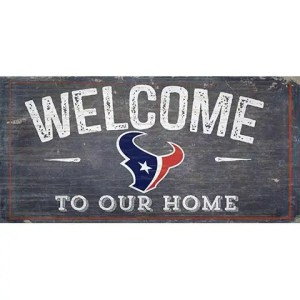 Houston Texans Welcome Sign