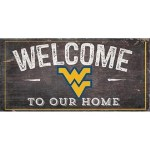 WVU Welcome Sign