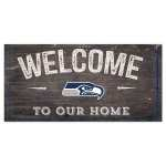 Seahawks Welcome Sign