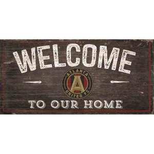 Atlanta United Welcome Sign