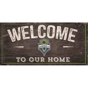 Seattle Sounders Welcome Sign