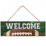 Football Welcome Sign